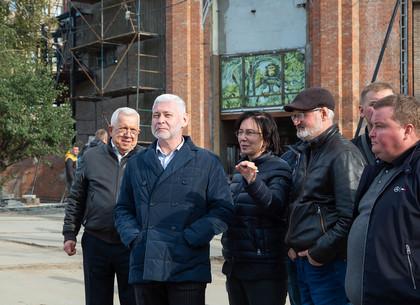 ФОТО: Игорь Терехов ознакомился с ходом реконструкции зоопарка (РЕДПОСТ)
