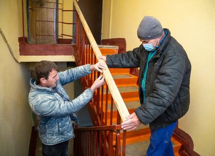 ФОТО: В Харькове продолжается ремонт старого жилого фонда (РЕДПОСТ)