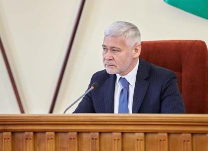 Игорь Терехов попросил харьковчан не парковать машины на обочинах и не заграждать въезды во дворы