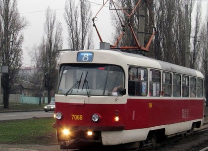 Во вторник трамвай №8 изменит маршрут