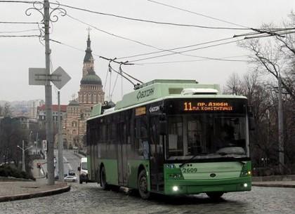 В четверг 11-й троллейбус пойдет по другому маршруту