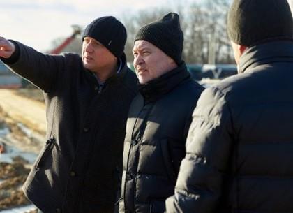 Игорь Терехов ознакомился с ходом строительства мусороперерабатывающего комплекса в Дергачах (ВИДЕО)