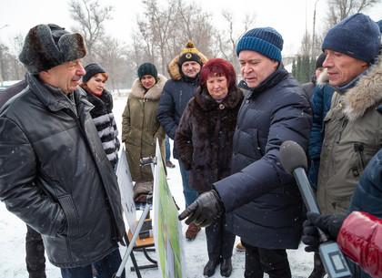 Игорь Терехов: Парк Маяковского в районе ХТЗ будет реконструирован (ФОТО)