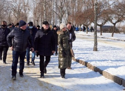 Игорь Терехов поручил разработать проект обновленного Основянского сквера