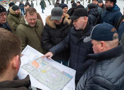 Игорь Терехов: Реконструированный сквер возле ДК «Металлист» откроют ко Дню города (ФОТО)
