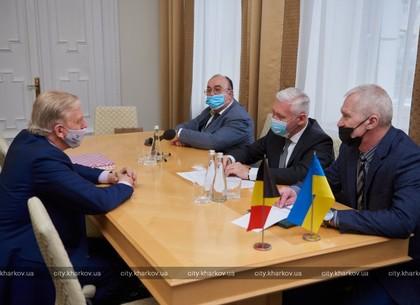Игорь Терехов встретился с Чрезвычайным и Полномочным Послом Королевства Бельгия в Украине Алексом Ленартсом