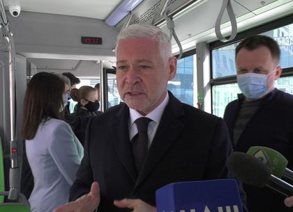 Игорь Терехов заявил, что не допустит транспортного коллапса в Харькове