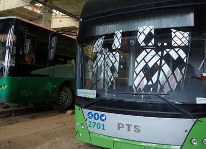 Новые турецкие автобусы будут обслуживаться в троллейбусном депо №2