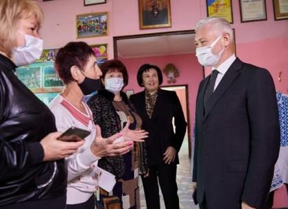 Игорь Терехов посетил Дворец детского и юношеского творчества Индустриального района