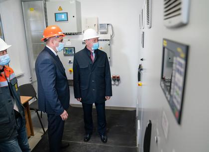 На Салтовской котельной открыли первую в Харькове станцию для производства электроэнергии (ФОТО)