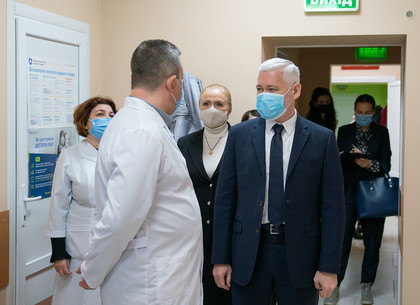 Игорь Терехов: В Пятихатках нужно оказывать полный комплекс медицинских услуг