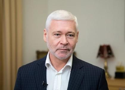 Игорь Терехов поздравляет харьковчан с Пасхой (ВИДЕО)