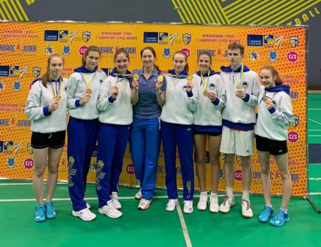 Новости Харькова: Харьковские бадминтонисты победили на Junior International