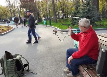Уличные музыканты Харькова уйдут из сада Шевченко