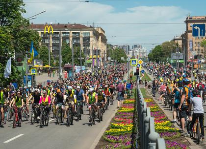 Как прошел Велодень в Харькове. Большой фоторепортаж
