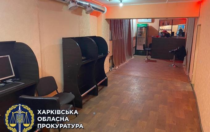 Под Харьковом закрыли незаконное игорное заведение
