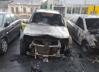 Пожар на Молочной в Харькове: от огня пострадали четыре автомобиля (Обновлено, ВИДЕО, ФОТО)
