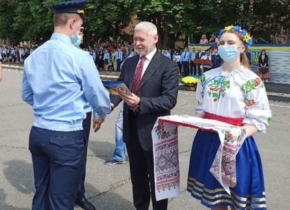 В Харкове прошел торжественный выпуск будущих спасателей (ВИДЕО, ФОТО)