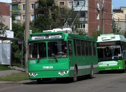 В Харькове 3-й и 36-й троллейбусы изменят маршрут