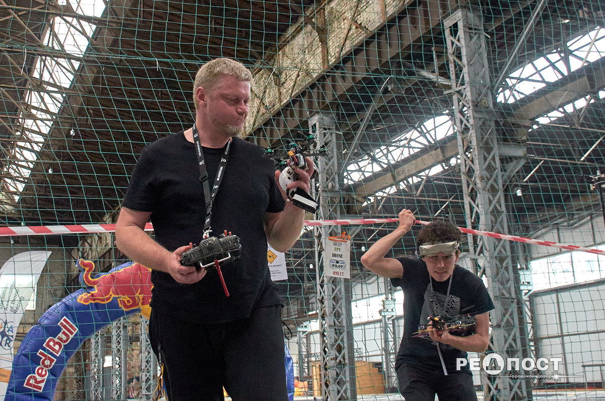 Соревнования спортивных дронов в Харькове