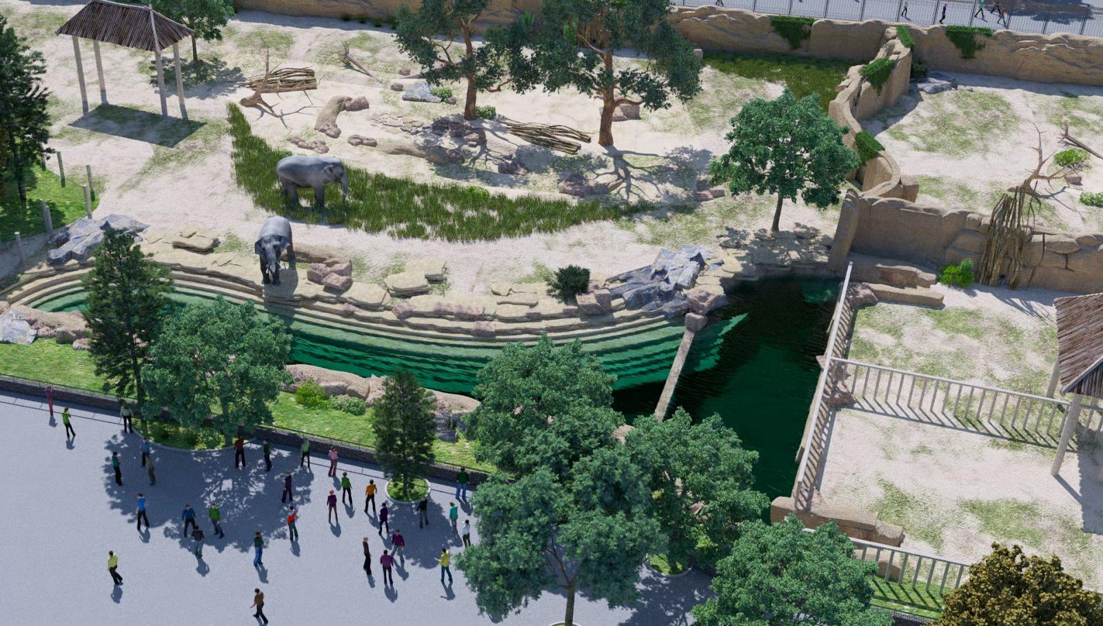 У Харьковского зоопарка – новая идеология планирования территории