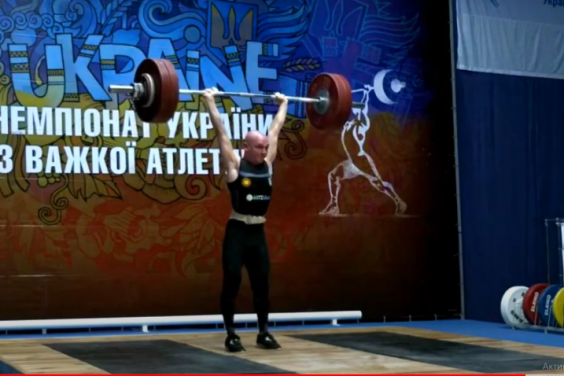 Харьковский тяжелоатлет стал рекордсменом и чемпионом национального первенства. Спорт Харьков