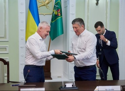 Игорь Терехов подписал меморандум с Федерацией волейбола Украины