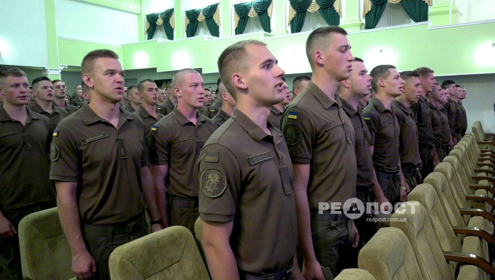 Харьковские курсанты отправляются на парад в Киев. Новости Харькова