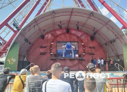 В Харькове открылась Олимпийская фан-зона (фото)