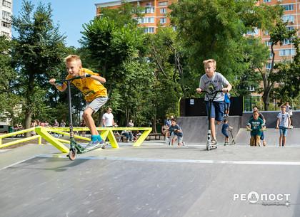 На скейт-площадке в Холодногорском сквере установят часы катания
