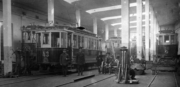 Электрические трамваи Харькова