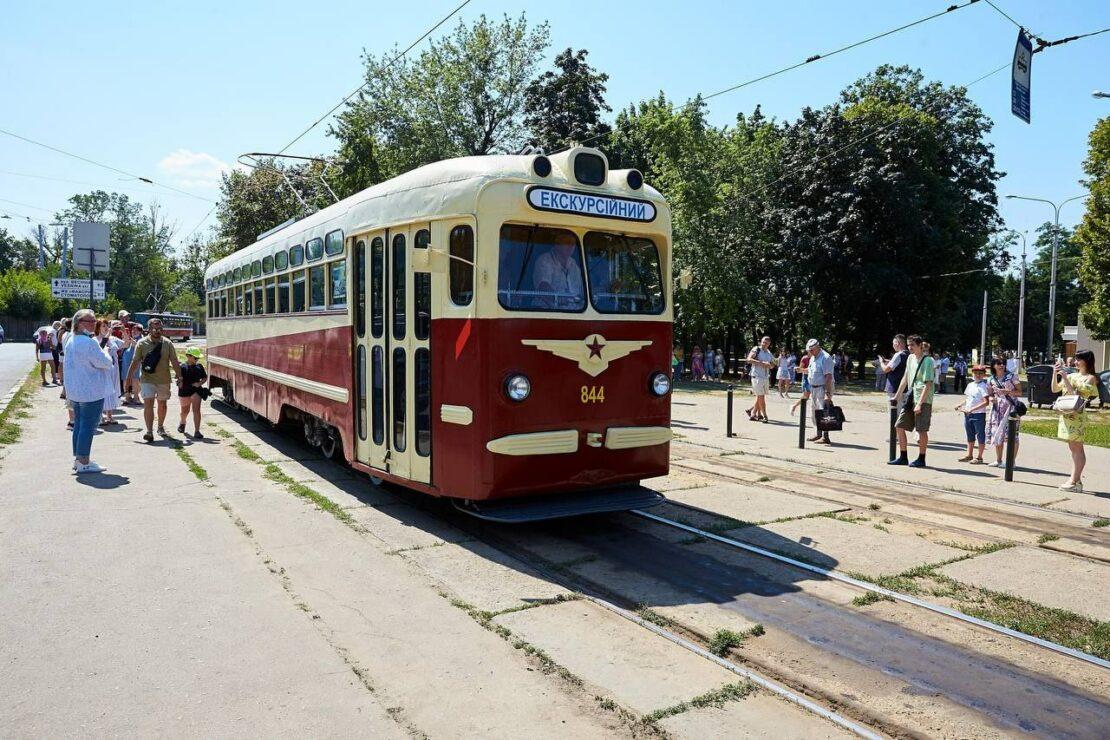 Экскурсия-выставка Харьковского трамвая