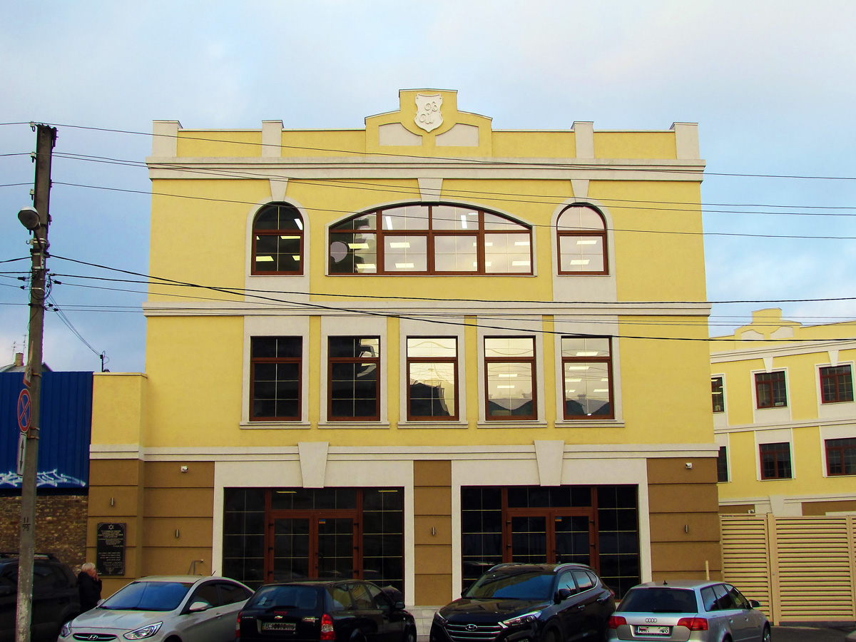 Улица Гражданская, 19. Ранее на этом месте находилась мещанская синагога