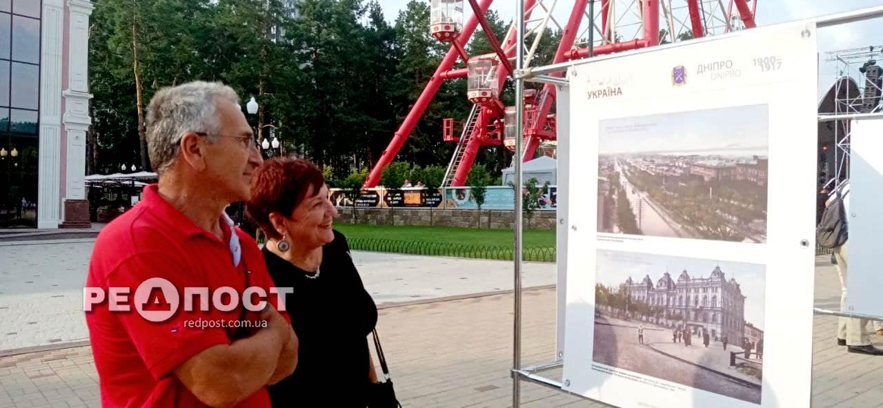 Фотовыставка городов Украины за 100 лет от Горького в Харькове. Новости Харьковакрылась в парке