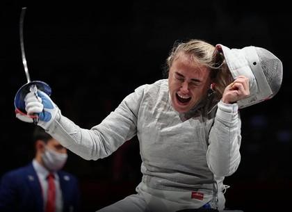 Саблистка из Харькова принесла первую медаль Паралимпийских игр в Токио для Украины