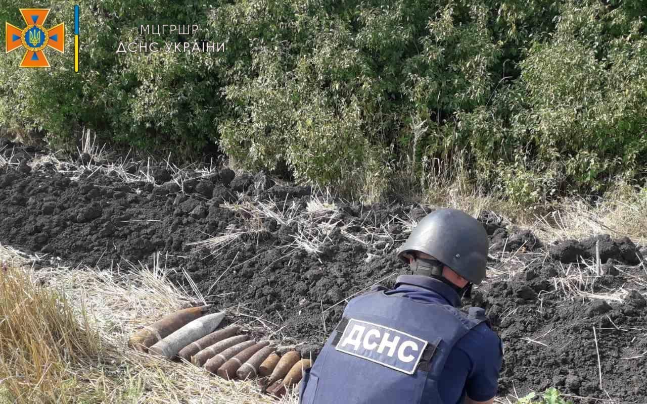 Арсенал боеприпасов уничтожили на Харьковщине