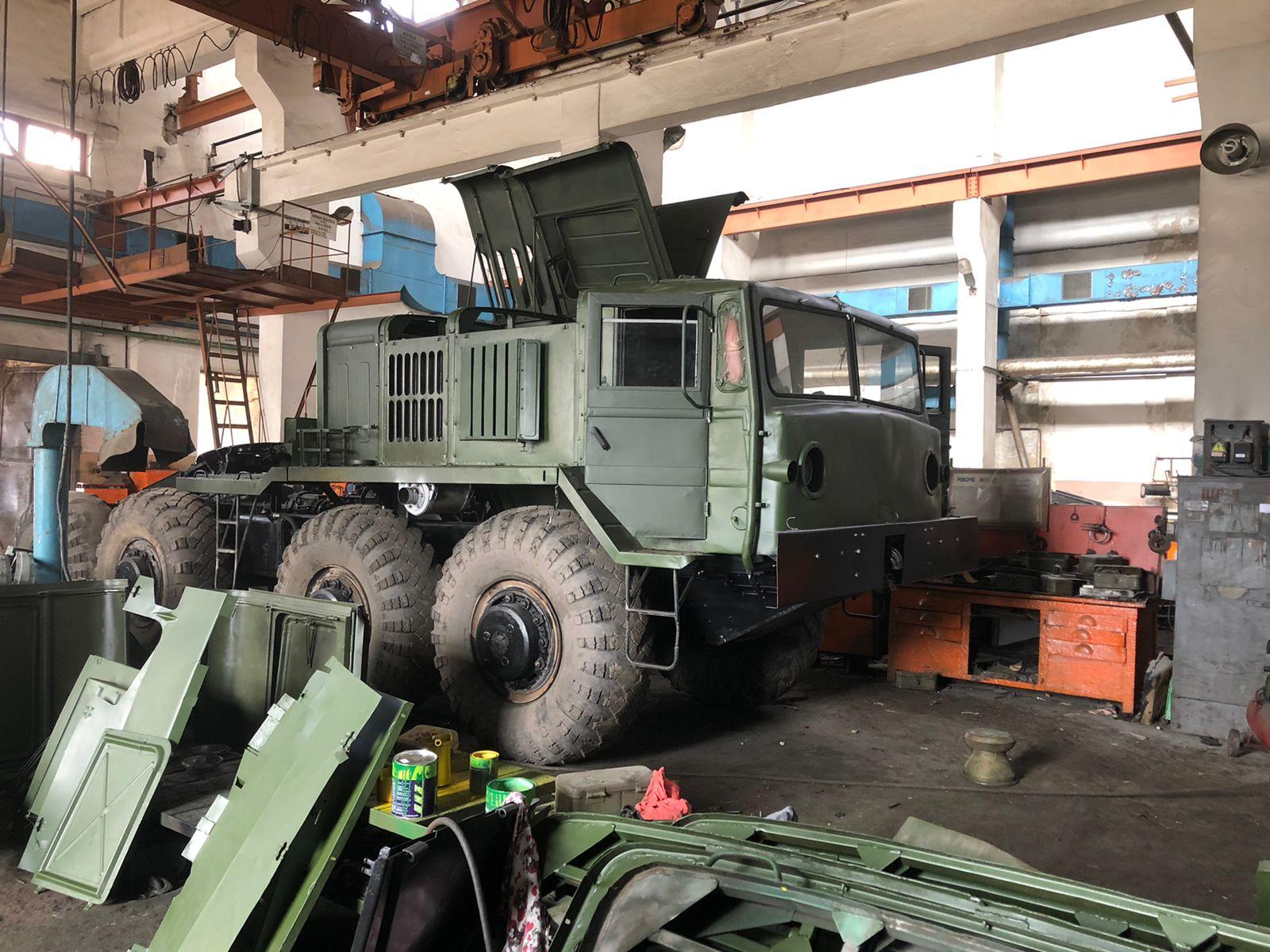 Харьковский автомобильный завод начал ремонт техники для ВСУ