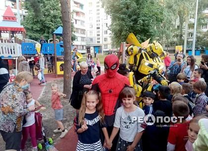 В Харькове на Песках открылся мини-парк
