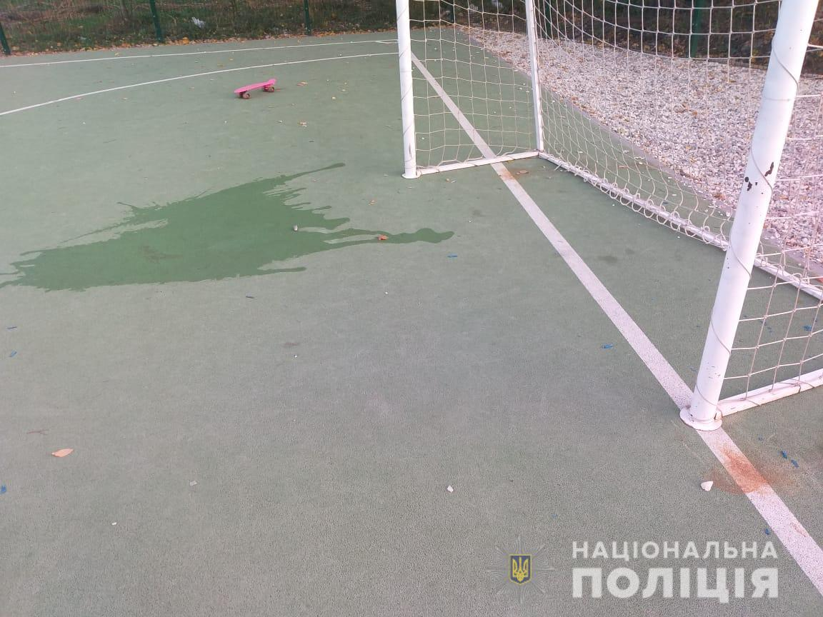 Ребенка травмировали на школьном дворе в Харькове