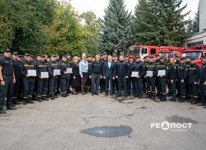 В Харькове поздравили спасателей с профессиональным праздником (фото)