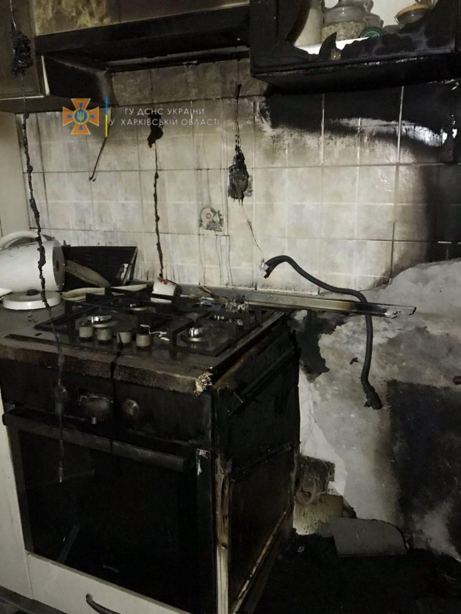 В Харькове произошел пожар в Шевченковском районе