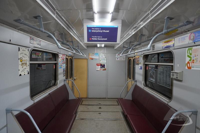 Вагон метро Харьков