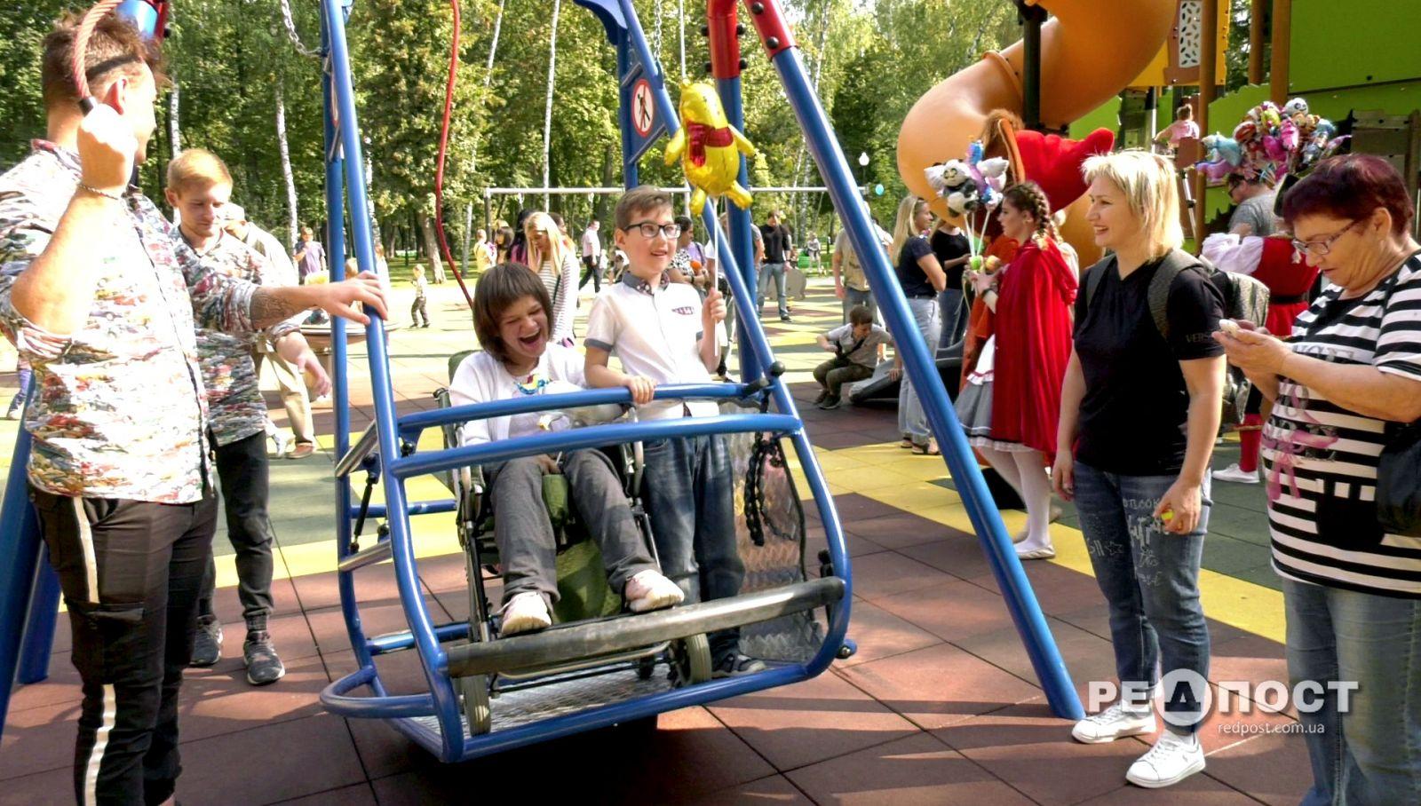Парк Горького в Харькове инклюзивная площадка