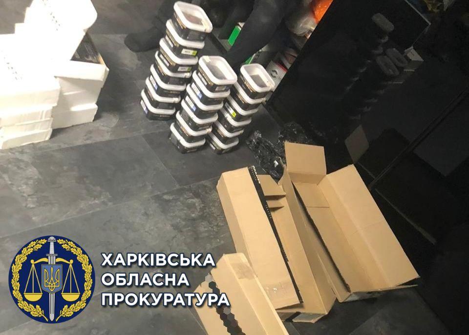 В Харькове изъяли табачные изделия